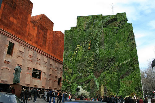 caixaforum vertical garden madrid