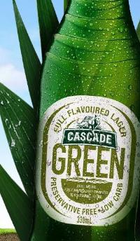 Cascade Green Beer