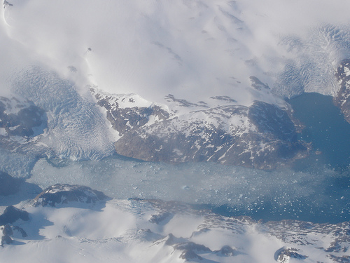 glacier melting into the sea Warning: Glaciers are melting faster than ever