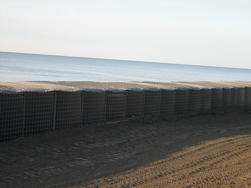 Sea wall to protect Kivalina from Global Warming waves/storms