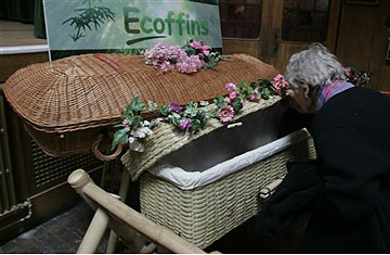 eco coffin Eco Funerals, Are You Green Enough?