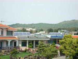 green village south korea Village on South Korean Jeju Island Runs Completely on Solar Power