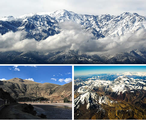andes mountains cordilliera The Andes Mountains to Double Their Height in 4 Million Years