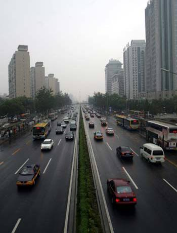 beijingcongestion Half of All Government Cars Removed from Streets