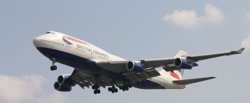 british airways boeing 747 400 When Trains are Faster than Airplanes