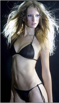 Salmon Skin Bikini Claudia Escobar is an eccentric Chilean fashion designer ...