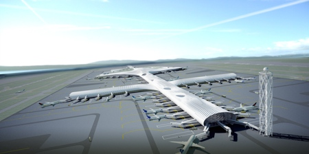 Shenzens Airport Terminal Design