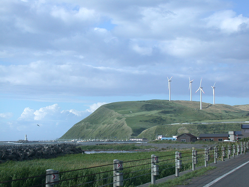 windpowerwakkanai Producing Hydrogen from Wind Power Being Tested