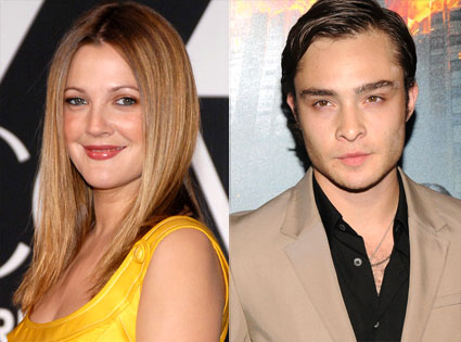 drewbarrymoreedwestwick Ed Westwick and Drew Barrymore Contribute to Global Climate Change