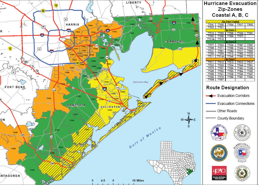 hurricane ike texas evacuation Two Reasons to Get Out of Brazoria County, Texas   ZIP code 77541