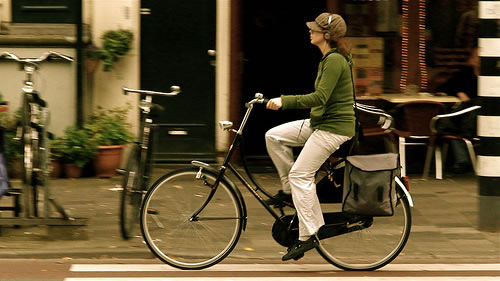 Amsterdam Bike Commuter