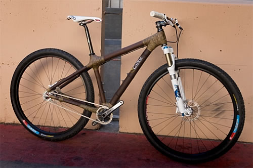 bamboo bike Bamboo Bike a Sustainable Transport Solution