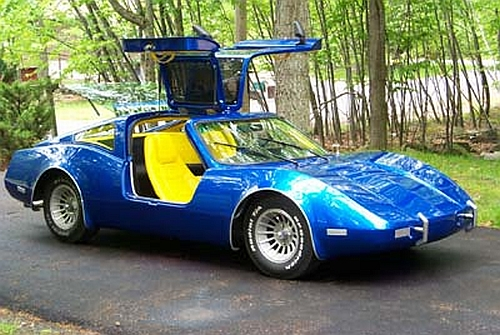 1975 Bradley GT http://www.greenpacks.org/2008/10/16/texas-teen-builds-electric-car-with-a-10000-budget/
