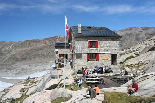 solar powered monte rosa alpine hut old Monte Rosa Alpine Hut Turned Solar Powered