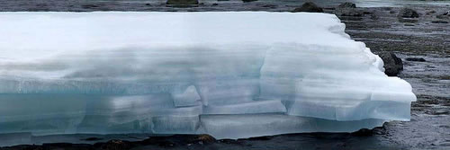 ice shelf Final Verdict: Human Activity Undeniably Caused the Climate Change at the Poles