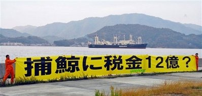 japanese whale hunt boat Japanese Whalers Go Off on Annual Whale Hunt