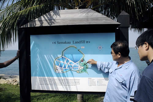 the semakau landfill Singapore Wants Eco Park on Landfill Island