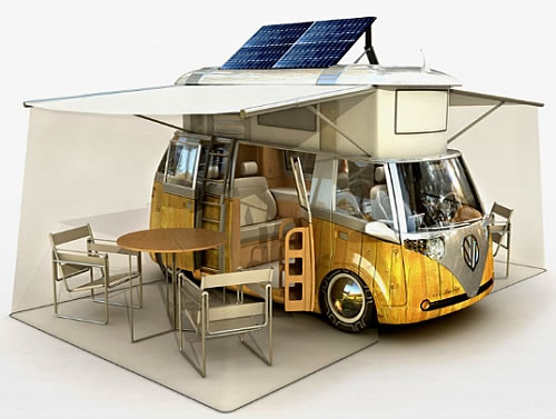 verdiers incredible solar powered eco rv 1 Verdiers Incredible Solar Powered Eco RV
