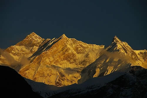 anapurna mountain Some of the Most Dangerous Mountains in the World