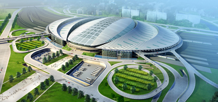 beijing south1 Asias Largest Railway Station is Powered by 3,246 Solar Panels
