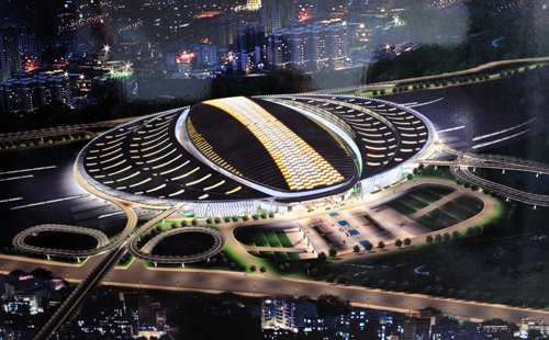 beijing south2 Asias Largest Railway Station is Powered by 3,246 Solar Panels