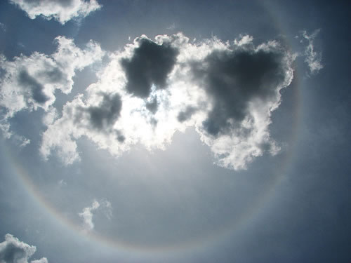 halo on clouds 1 10 Amazing Halo Images that Gamemakers Like Halo 3 Cant Compete with