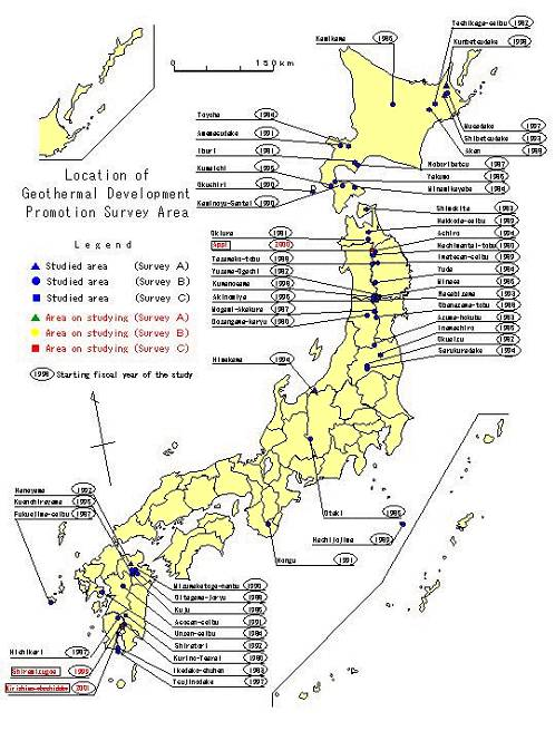 geothermal japan Geothermal Projects Pick Up Steam in Japan