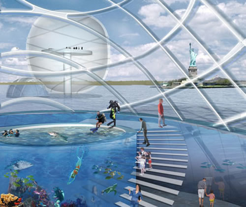 governers island eco park 2 Governors Island   To Become a Green Paradise by 2012!