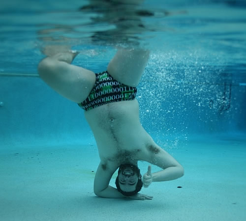 underwater guy Double Trouble: River Pollution Could Be Responsible For Fertility Problems in Men