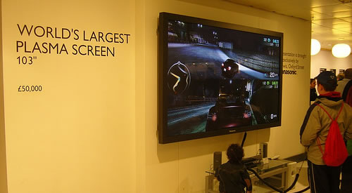worlds largest plasma screen High Energy Consumption Could Lead to a Ban on Plasma TVs in Brussels