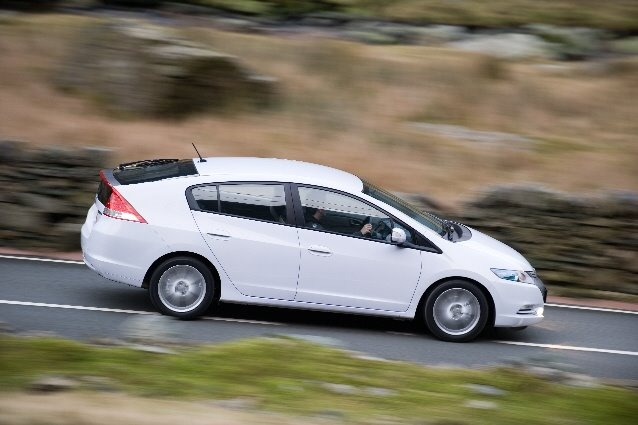 Honda Insight Hybrid. The Insight base model of
