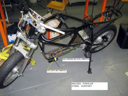 hydrogen fuel cell motorcycle c2302 College Students Build Hydrogen Fuel Cell powered Motorcycle