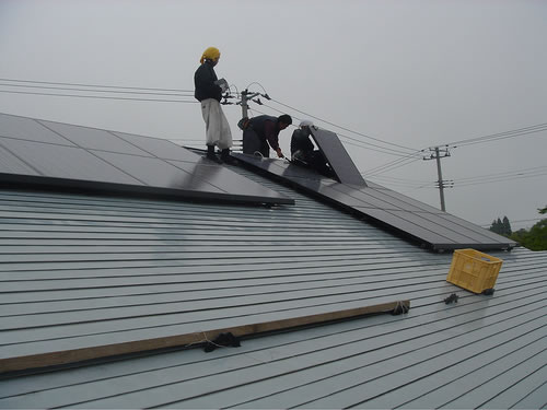 solar panel install Solar Panel Competion Heating Up in Japan