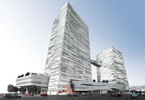 taiwane28099s chinatrust bank 1 Taiwan's Chinatrust Bank, Goes Green With Grand New Headquarters