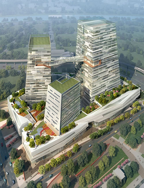 taiwane28099s chinatrust bank 2 Taiwan's Chinatrust Bank, Goes Green With Grand New Headquarters