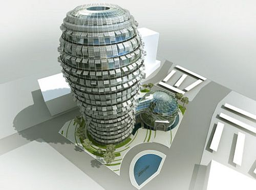 Does it beat the wind-powered rotating skyscraper in Dubai?