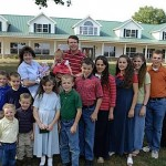 duggar family 1 150x150 The Duggar Family   Doing Their Part to Overpopulate the World