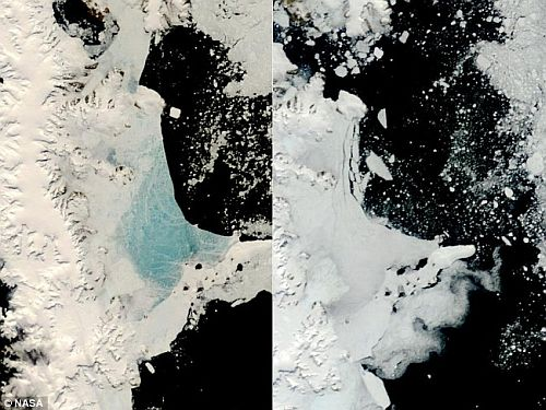 sea ice in antarctica Antarctic Sea Ice is Growing Thanks to Ozone Layer