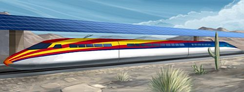 solar bullet train 2 220mph Bullet Train Juiced up using Solar Energy