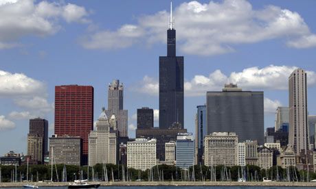 The Sears Tower Sears Tower, tallest building in the US, to go green