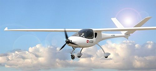 Yuneec E430 Electric Airplane 1 Yuneec E430: The first electric plane to be commercially produced