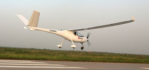 Yuneec E430 - First Electric Airplane to go Into Commercial Production