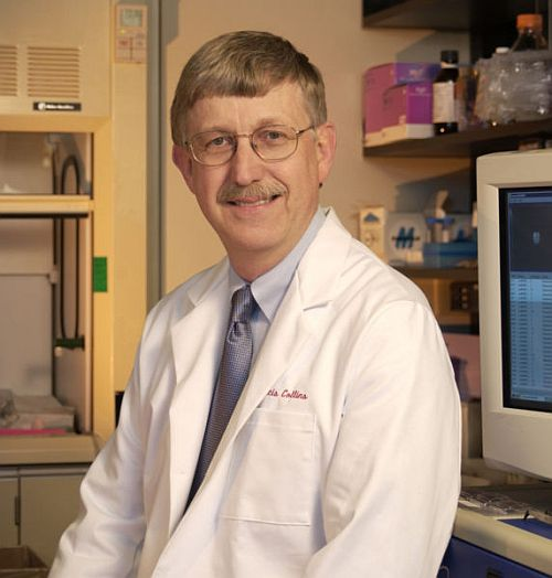 Dr Francis Collins Dr Francis Collins, leader of genome project, to head NIH