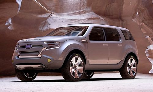 Ford Explorer America Concept 1 Ford to Introduce New EcoBoost Engine and Dual Clutch Gearbox Next Year