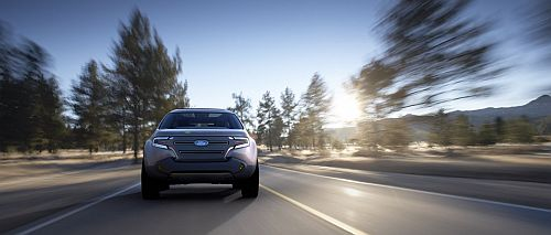 Ford Explorer America Concept 2 Ford to Introduce New EcoBoost Engine and Dual Clutch Gearbox Next Year