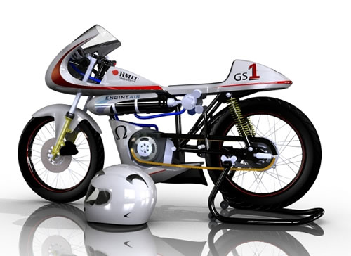 Renewable Energy for the Poor Man  Air Powered Motorcycle