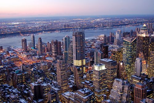 Midtown Manhattan and New Jersey from Empire State Building New Jersey okays energy efficiency plan worth $225 million
