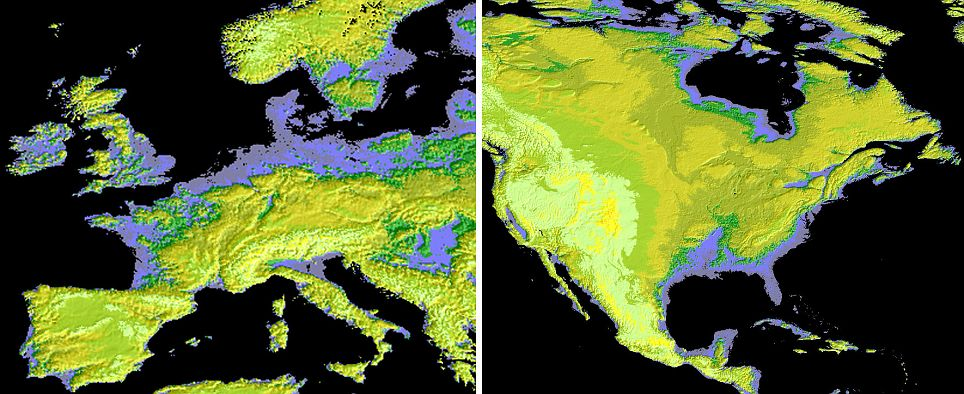 NASA complete terrain map of Earth 2 NASA's breakthrough terrain map depicts 99% of Earth's surface