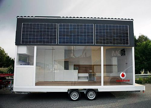 Vodafone trailer home from Waskman Design Studio 1 Vodafone trailer home from Waskman Design Studio
