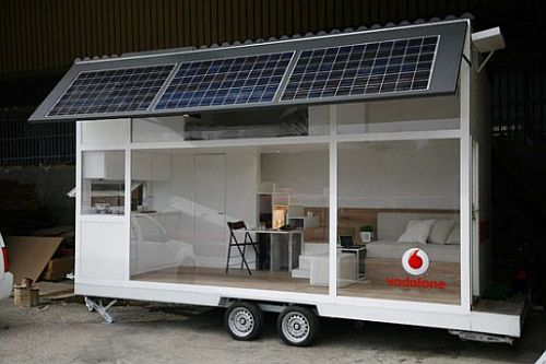 Vodafone trailer home from Waskman Design Studio 2 Vodafone trailer home from Waskman Design Studio